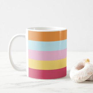 Coordinated Stripes Mug