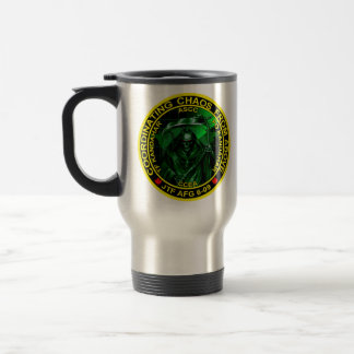 Coordinatiing Chaos From Above Travel Mug