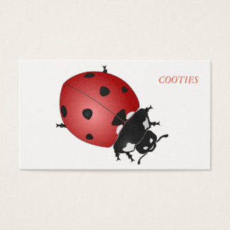 Cootie calling card