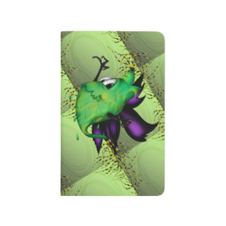 COOTTY ALIEN MONSTER CARTOON Pocket Journal