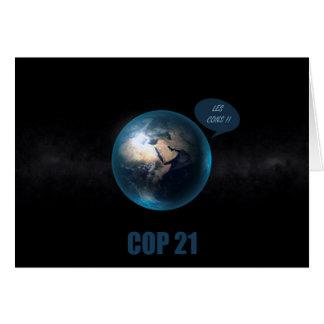 COP 21 CARD