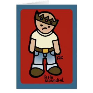 cop an attitude card. card