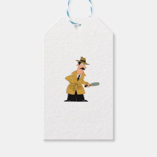 cop guy on the prowl gift tags