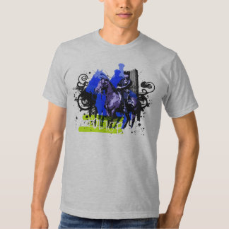Cop on Horse Tees