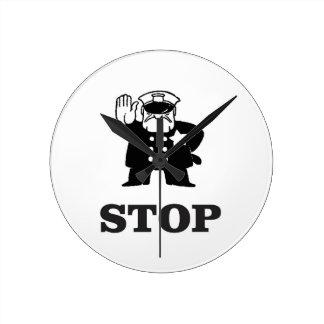 cop stop wallclock