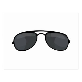 Cop Sunglasses Postcard