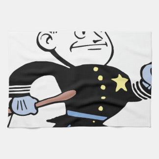 Cop Vintage Tea Towel