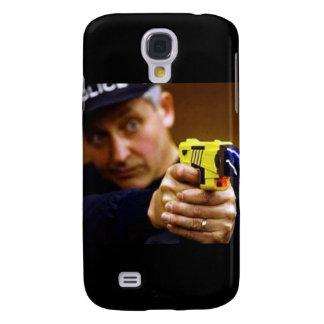 Cop With A Taser Gun Samsung Galaxy S4 Covers