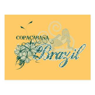 Copacabana Brazil Tshirts and Gifts Postcard