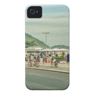 Copacabana Sidewalk Rio de Janeiro Brazil Case-Mate iPhone 4 Case