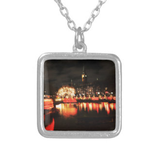 Copenhagen at Christmas Silver Plated Necklace