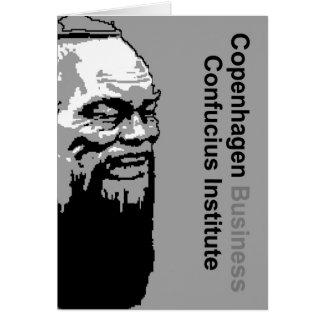 Copenhagen Business Confucius Institute Card