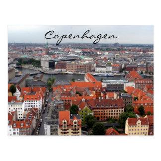 copenhagen channel postcard