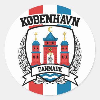 Copenhagen Classic Round Sticker