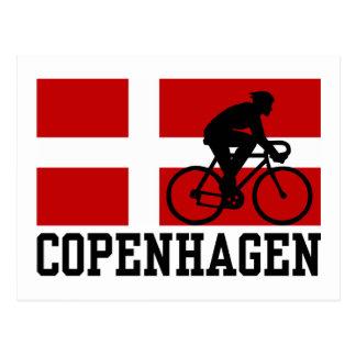 Copenhagen Cycling (male) Postcard