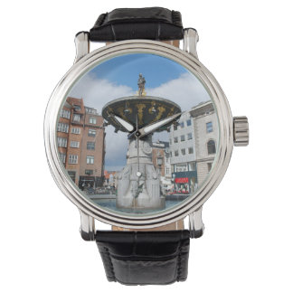 Copenhagen Denmark, Caritas Well Fountain Wrist Watches
