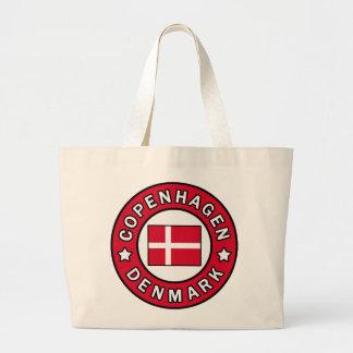 Copenhagen Denmark Large Tote Bag