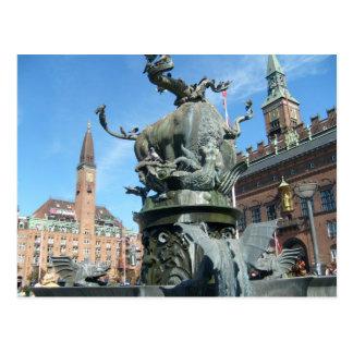 Copenhagen, Denmark Postcard
