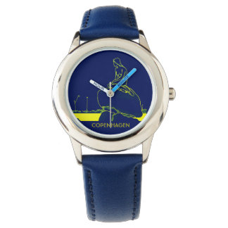 Copenhagen Denmark Vibrant Colors Pop Art Neon Watch