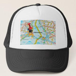 Copenhagen, København in Denmark Trucker Hat