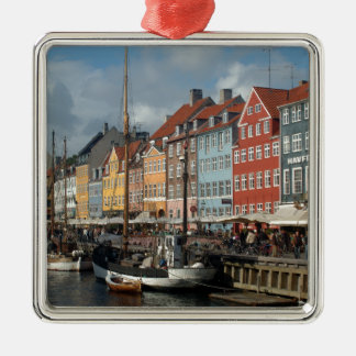 Copenhagen Nyhavn Metal Ornament