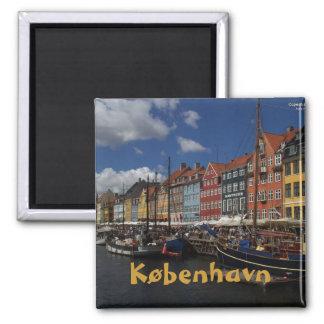 Copenhagen Square Magnet