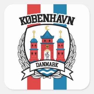 Copenhagen Square Sticker