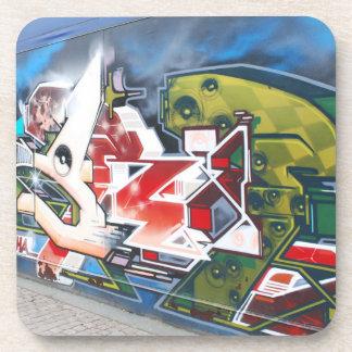 Copenhagen Street Graffiti Art Coaster