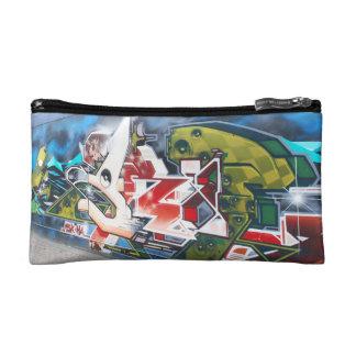 Copenhagen Street Graffiti Art Makeup Bag