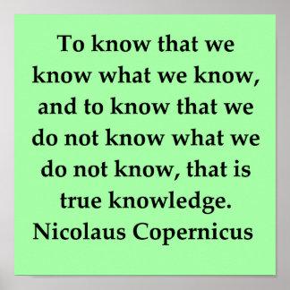 copernicus quote print