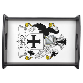 Copley Family Crest Serving Tray