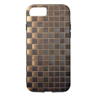 Copper Aluminium-Effect Tile iPhone 8/7 Case