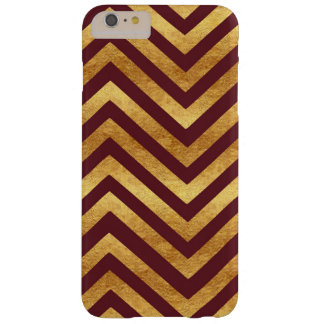 Copper and Burgundy Chevron Phone Case