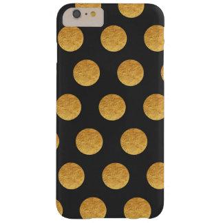 Copper and Charcoal Polka Dot Phone Case