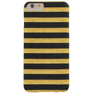 Copper and Charcoal Striped Phone Case