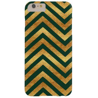 Copper and Emerald Chevron Phone Case