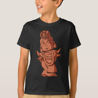 Copper and gold alloy accomplishing pulling out T-Shirt