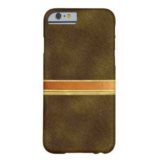 Copper and Gold on Leather Texture Case