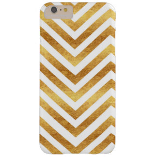 Copper and Ivory Chevron Phone Case