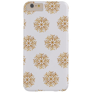 Copper and Ivory Snowflakes Phone Case