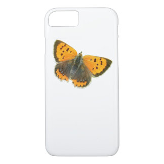Copper butterfly design iPhone cases