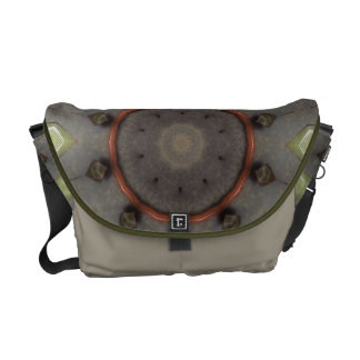 Copper Circle Messenger Bag