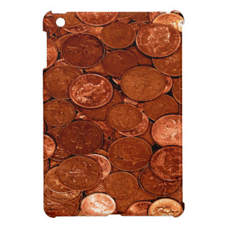 Copper Coins Mat Cover For The iPad Mini