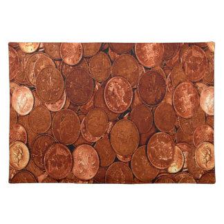 Copper Coins Placemat