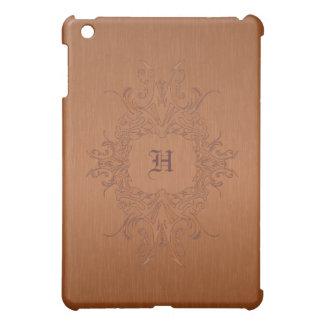 Copper Color Brushed Aluminum  iPad Mini Cases