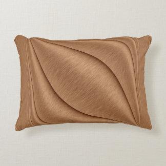 Copper Contour Decorative Cushion
