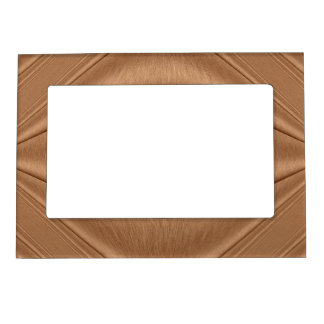 Copper Contour Magnetic Picture Frame