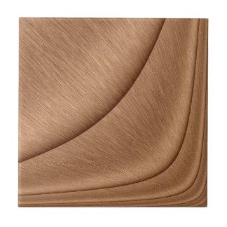 Copper Contour Tile