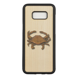 Copper Crab Carved Samsung Galaxy S8+ Case