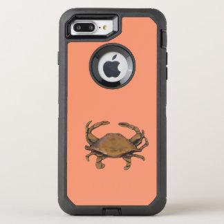 Copper crab OtterBox defender iPhone 7 plus case